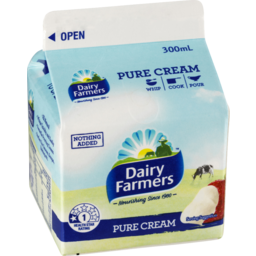 Photo of Dairy Farmers Fresh Cream 300ml
