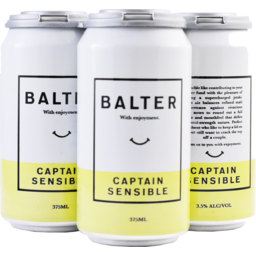 Photo of Balter Captain Sensible Mid 375ml 4 Pack