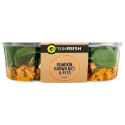 Photo of Sunfresh Pumpkin Rice & Feta 275g