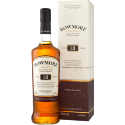 Photo of Bowmore Islay Single Malt 18yo