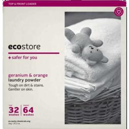 Photo of Ecostore Laundry Powder Geranium & Orange 1kg