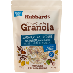 Photo of Hubbards Granola Gluten Free Almonds Pecan Coconut 350g