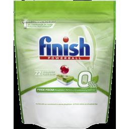Photo of Finish 0% Dishwasher Tablets 22 Pack