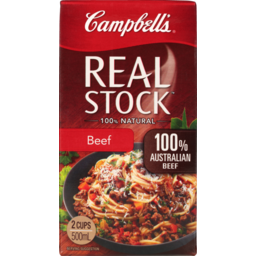 Photo of Campbell's Real Stock Beef 500ml 500ml