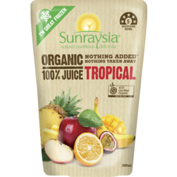 Photo of Sunraysia Organic Tropical Juice 200ml