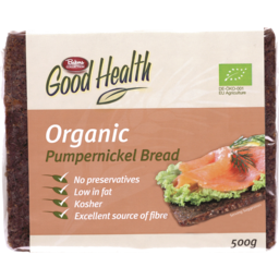 Photo of Good Health Organic Pumpernickel Bread 500gm