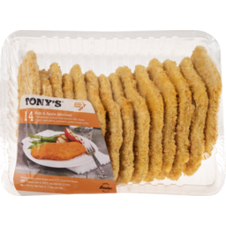Photo of Tonys Schnitzel Pork & Apple 14 Pack