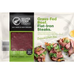 Photo of Silver Fern Farms Grass-Fed Beef Flat-Iron Steaks 220gm