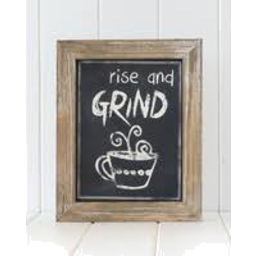 Photo of Rayell Quote Sign Coffee
