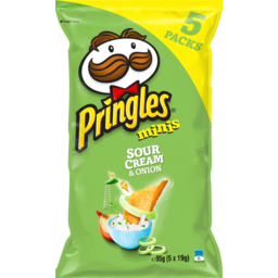 Photo of Pringles Minis Sour Cream Onion 5 Pack