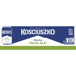 Photo of Kosciuszko Pale Ale Cans