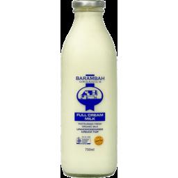 Photo of Barambah Full Cream Milk In Glass 750ml
