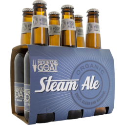 Photo of Mountain Goat Organic Steam Ale 4.5% 6x330ml