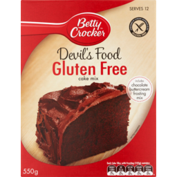 Photo of Betty Crocker Gluten Free Cake Mix Devil's Food 550g