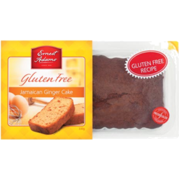 Photo of Ernest Adams Cake Gluten Free Jamaican Ginger 330g