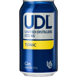 Photo of UDL Gin & Tonic Cans