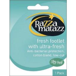 Photo of Razza Fresh Footlet Black 8+