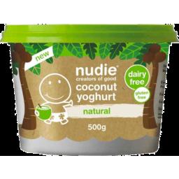 Photo of Nudie Coconut Yoghurt Natural 500gm