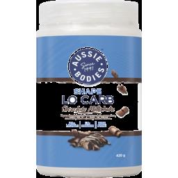 Photo of Aussie Bodies Lo Carb Protein Powder Chocolate Milkshake 420g