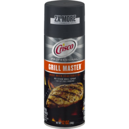 Photo of Crisco Grill Master Spray