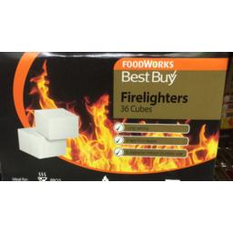 Photo of Best Buy Firelighters 36pk