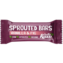 Photo of Hello Raw Sprout Bar Fig 45g