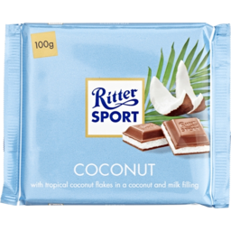 Photo of Ritter Sport Coconut 100gm