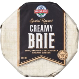 Photo of Mainland Cheese Special Reserve Brie 125g