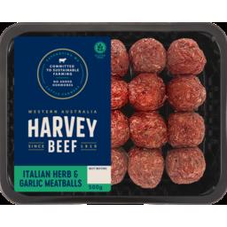 Photo of H/Bf Herb & Garlic Meatballs