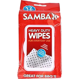 Photo of Samba H/Duty BBQ Wipes 12's
