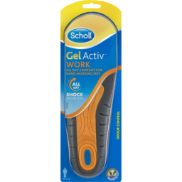Photo of Scholl Gel Activ Work Insoles Men