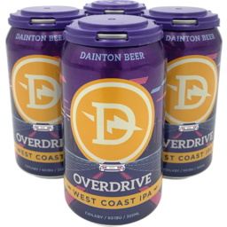 Photo of Dainton Overdrive West Coast IPA Can