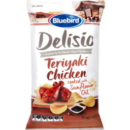Photo of Bluebird Delisio Potato Chips Teriyaki Chicken 140g