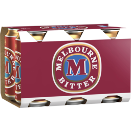 Photo of Melbourne Bitter Can 375ml 6 Pack