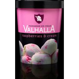 Photo of Valhalla Raspberries & Cream 1lt