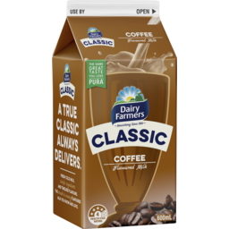 Photo of Dairy Farmers Df Classic Coffee Flvoured Milk 600ml Carton Sa