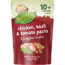 Photo of Raffertys Garden Ground Chicken & Tomato Paste 170g