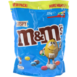 Photo of M&M's M&Ms Crispy 335g Pouch Sfp In House
