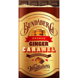 Photo of Whittakers Bundaberg Black Choc Block 250g