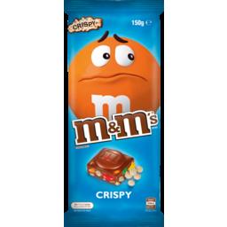 Photo of M&M's Crispy Milk Chocolate Block 150g