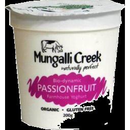 Photo of Mungalli Creek - Yoghurt - Passionfruit - 200g