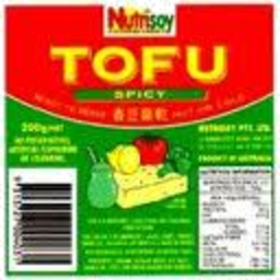 Photo of Nutrisoy Tofu Spicy 200gm
