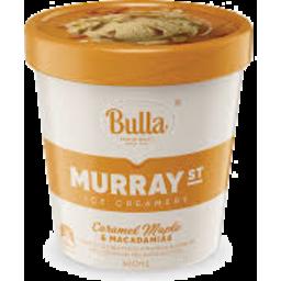 Photo of Bulla Ice Cream Murray St Caramel Maple & Macadamia 460ml
