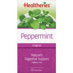 Photo of Healtheries Tea Bags Peppermint 20 Pack