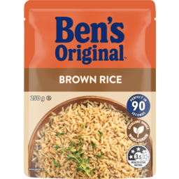 Photo of Bens Original Brown Rice Pouch 250g