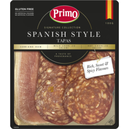 Photo of Primo Signature Collection Spanish Style Tapas 100g