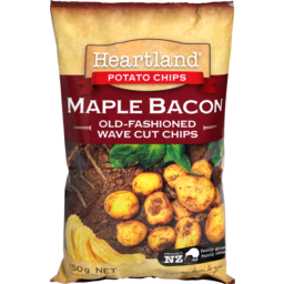 Photo of Heartland Potato Chips Maple Bacon 150g