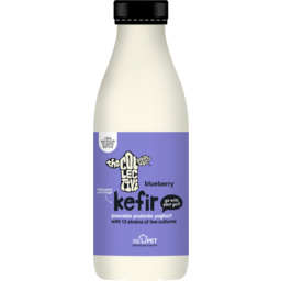 Photo of The Collective Probiotic Kefir Pourable Yoghurt Blueberry 700g