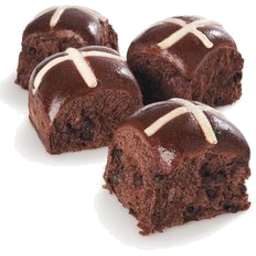 Photo of Breads of Europe Hot Cross Buns Chocolate & Chilli 6 Pack