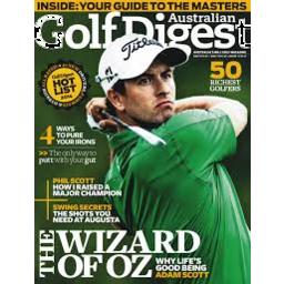 Photo of Australian Golf Digest Magazine